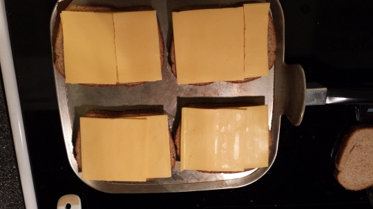 Layers of cheese